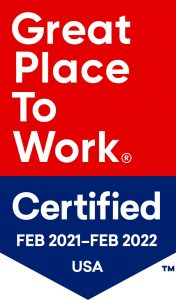 Great Place to Work Certified Feb 2021 - Feb 2022 USA
